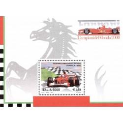 Ferrari Formule 1 champion...