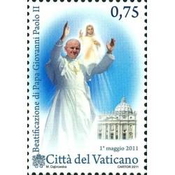 La béatification du pape...