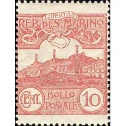 Cifra o veduta di San Marino