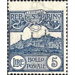 de Saint-Marin chiffres ou vue