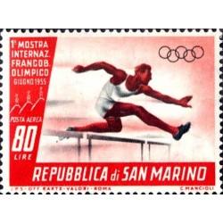 1ª mostra internazionale del francobollo olimpico