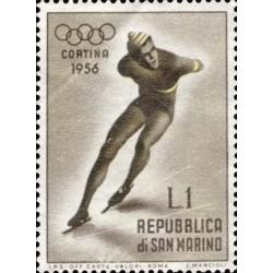 VII giochi olimpici invernali, a Cortina d'Ampezzo