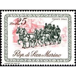 Carrozze del 1800