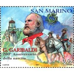 200º anniversario della nascita di Giuseppe Garibaldi
