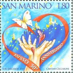 50e anniversaire de l'association bénévole San Marino sang et des organes (A.V.S.S.O.)
