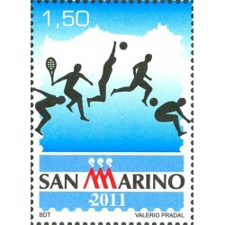 Sport à Saint-Marin Philatélie