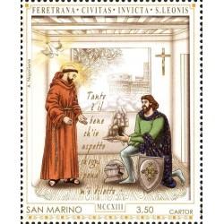 800º anniversario della donazione del monte della Verna a San Francesco