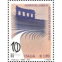 100e anniversaire de la fête de l'opéra Arena di Verona