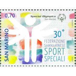 30 aniversario de la fundación de la Federación de San Marino Deporte Especial