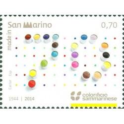 70º anniversario della fondazione del colorificio sammarinese