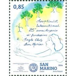 25º anniversario della fondazione del soroptimist international single club San Marino