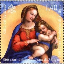 500 años de la Madonna de Foligno y la Madonna Sixtina