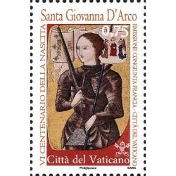6º centenario del nacimiento de Juana de Arco