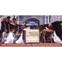 750e anniversaire du miracle de Bolsena