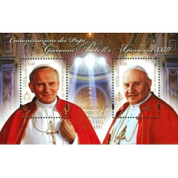 Canonizzazioni dei papi Giovanni Paolo II e Giovanni XXIII