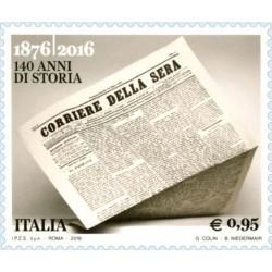 140 aniversario de la fundación del periódico Corriere della Sera