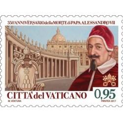 350e anniversaire de la mort du pape Alexandre VII et Francesco Borromini