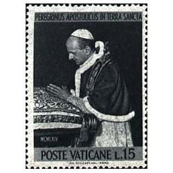 Pèlerinage du Pape Paul VI...