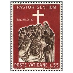 Le trajet de Paul VI en...