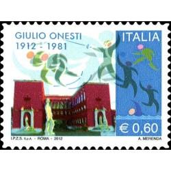 Centenaire de la naissance de Giulio Onesti