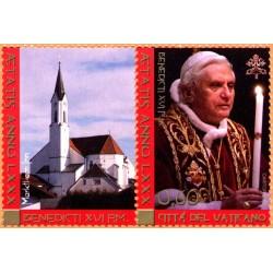 80e anniversaire du Pape...