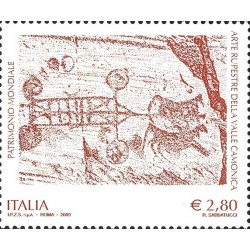 Art rupestre du Val Camonica